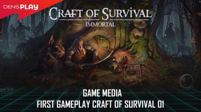 Game Media - First Gameplay Craft of Survival 01