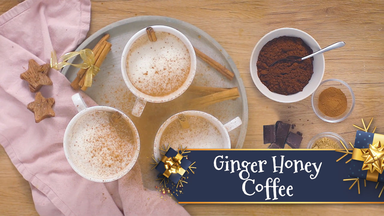 Ginger Honey Coffee