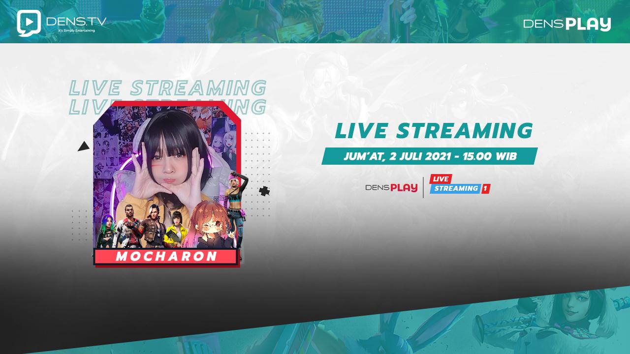 Saksikan Live Streaming Free Fire dan Mabar Bersama Mocharon !