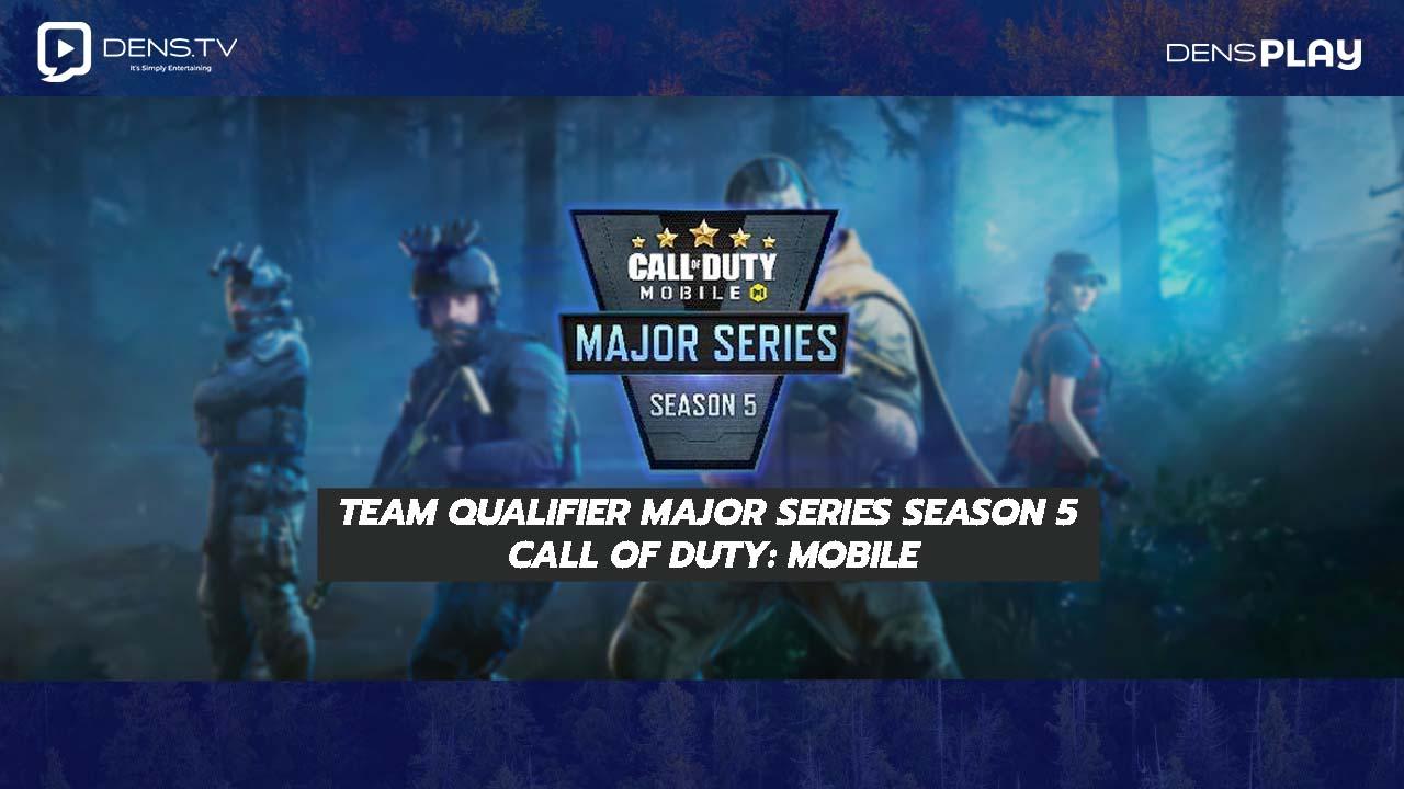 Team Qualifier Major Series Season 5 Call of Duty: Mobile