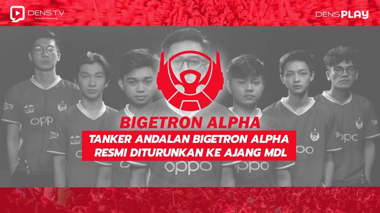 Tanker Andalan Bigetron Alpha Resmi diturunkan ke ajang MDL