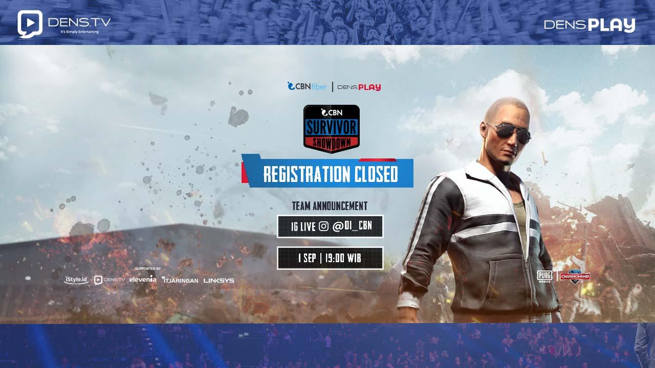 Close Registration CBN SURVIVOR SHOWDOWN S1 !