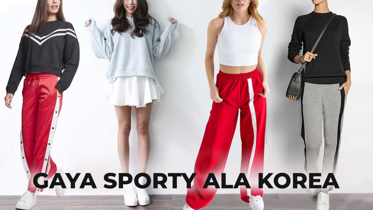 Gaya Sporty ala Korea