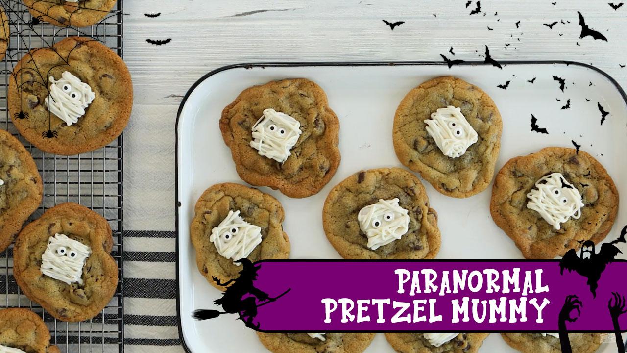 Paranormal Pretzel Mummy