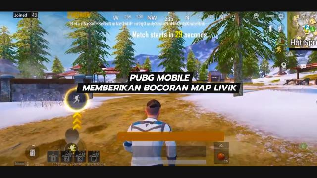 PUBG Mobile Memberikan Bocoran Map Livik