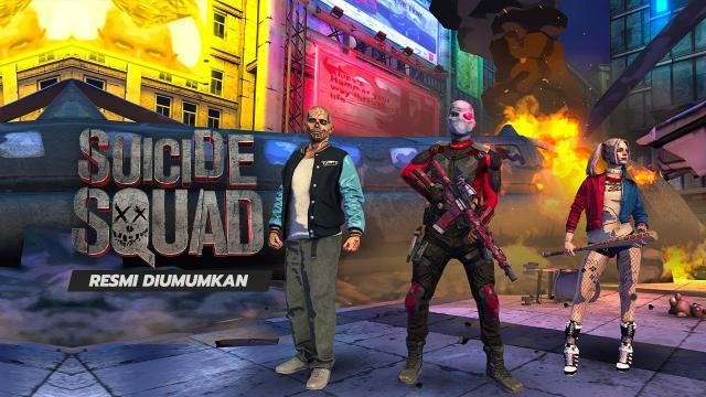 Game Suicide Squad Resmi Diumumkan