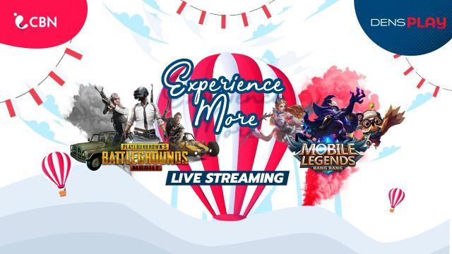 Live Streaming CBN Experience More PUBG M dan MLBB Tournament