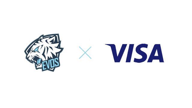 Evos Esports Berkerjasama Dengan Visa Untuk Mengembangkan Esports Indonesia