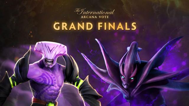 Final Vote Arcana Dota 2 The International 2020