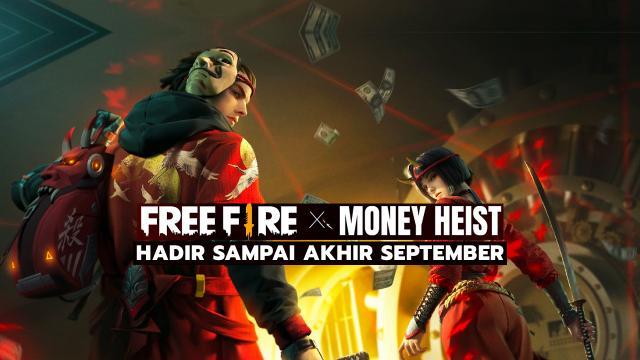 Free Fire X Money Heist Hadir Sampai Akhir September