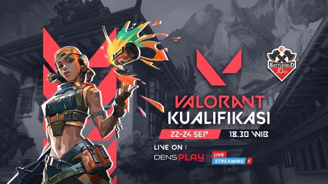Saksikan Live Streaming JD.ID Battlefield Valorant Tournament
