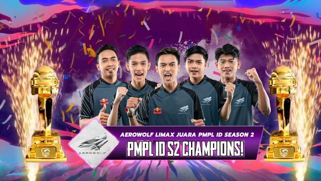 Aerowolf Limax Juara PMPL ID Season 2