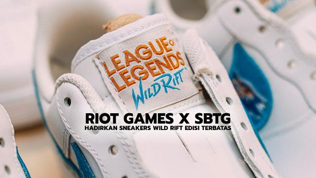 Riot Games X STBG Hadirkan Sneakers Wild Rift Edisi Terbatas