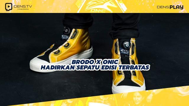 Brodo X ONIC Hadirkan Sepatu Edisi Terbatas