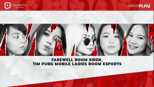 Farewell BOOM Siren, Tim PUBG Mobile Ladies BOOM Esports