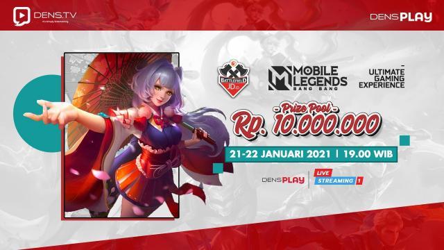 Saksikan Live Streaming JD.ID Battlefield Mobile Legends Tournaments