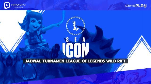 SEA Icon Series Summer 2021, Jadwal Turnamen League of Legends Wild Rift