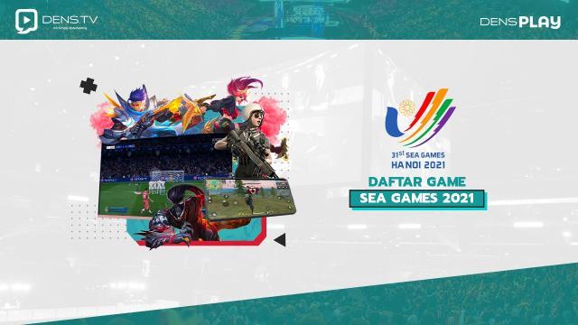 Daftar Game yang Dipertandingkan di SEA Games 2021