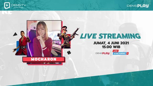 Nonton dan Saksikan Keseruan Live Streaming Free Fire Bersama Mocharon!