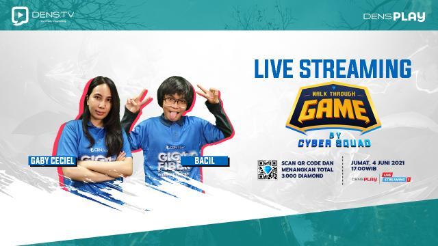 Give Away Total 3.000 Diamonds MLBB Hanya di Walk Through Game by Cyber Squad Ep. 7 !
