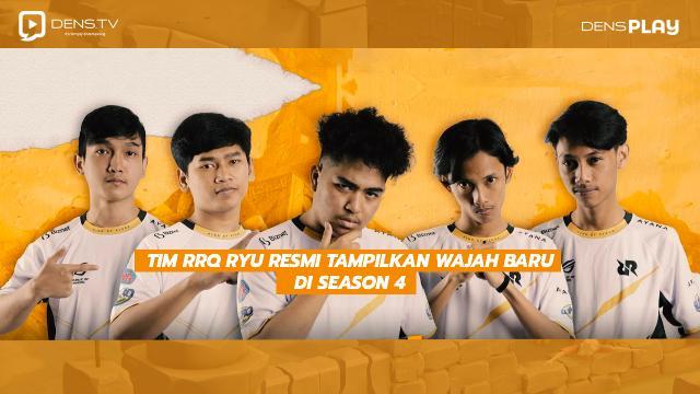 RRQ Ryu Resmikan Roster Terbaru Mereka Untuk PMPL Season 4!