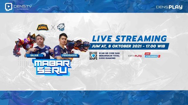 Saksikan Live Streaming WTG Mabar Seru Bersama EVOS!